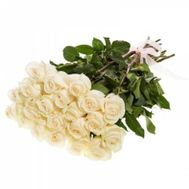 31 imported white rose - flowers and bouquets on roza.od.ua