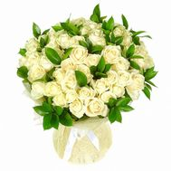Bouquet of 45 roses - flowers and bouquets on roza.od.ua