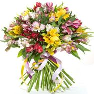 51 alstroemerias - flowers and bouquets on roza.od.ua