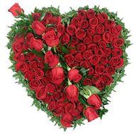 75 красных роз - цветы и букеты на roza.od.ua