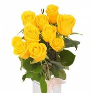 Yellow roses - flowers and bouquets on roza.od.ua