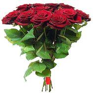 Букет из красных роз - цветы и букеты на roza.od.ua