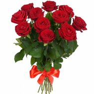 Bouquet of 11 red roses - flowers and bouquets on roza.od.ua