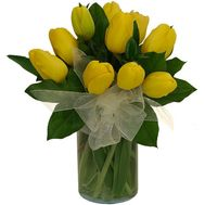 Bouquet of 11 tulips - flowers and bouquets on roza.od.ua