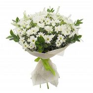 Bouquet of 13 chrysanthemums - flowers and bouquets on roza.od.ua