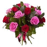 Bouquet of flowers from roses - flowers and bouquets on roza.od.ua