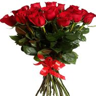 Red roses 17 pcs. - flowers and bouquets on roza.od.ua