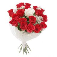 Bouquet of 19 roses - flowers and bouquets on roza.od.ua
