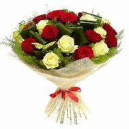 Beautiful bouquet of roses - flowers and bouquets on roza.od.ua