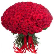 Bouquet of 201 red roses - flowers and bouquets on roza.od.ua