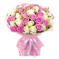Delicate bouquet of roses - flowers and bouquets on roza.od.ua