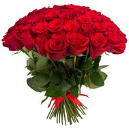 """Large bouquet of 45 roses"" in the online flower shop roza.od.ua"