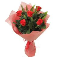 Bouquet of red roses - flowers and bouquets on roza.od.ua