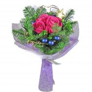 """Bouquet of roses with spruce"" in the online flower shop roza.od.ua"