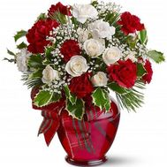 New Year bouquet of flowers - flowers and bouquets on roza.od.ua