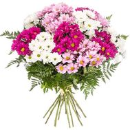 Bouquet of multicolored chrysanthemums - flowers and bouquets on roza.od.ua