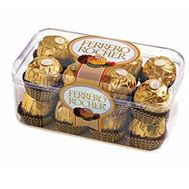 Ferrero in a plastic box - flowers and bouquets on roza.od.ua