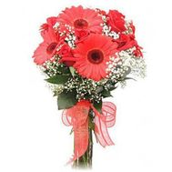 Gerberas and roses - flowers and bouquets on roza.od.ua