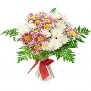 """Bouquet of 7 chrysanthemums"" in the online flower shop roza.od.ua"