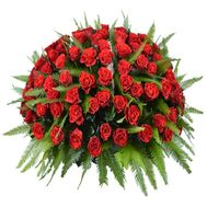 101 red rose - flowers and bouquets on roza.od.ua