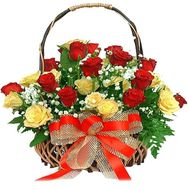 """Bouquet of 25 roses"" in the online flower shop roza.od.ua"