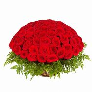 """51 red rose"" in the online flower shop roza.od.ua"