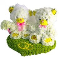 """Bears from flowers"" in the online flower shop roza.od.ua"