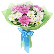 """Delicate bouquet of chrysanthemums"" in the online flower shop roza.od.ua"