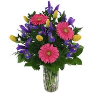 Spring bouquet of flowers - flowers and bouquets on roza.od.ua