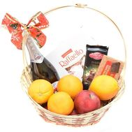 Gift basket with Asti Martini - flowers and bouquets on roza.od.ua