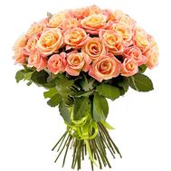 Bouquet of 35 roses Miss Piggy - flowers and bouquets on roza.od.ua