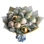 Bouquet of Christmas balls - flowers and bouquets on roza.od.ua