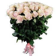 31 rose Pink Mondial - flowers and bouquets on roza.od.ua