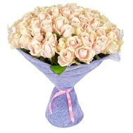 101 cream rose 60 cm - flowers and bouquets on roza.od.ua