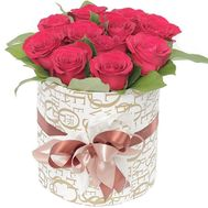 11 roses in a box - flowers and bouquets on roza.od.ua
