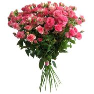 """15 cluster roses"" in the online flower shop roza.od.ua"