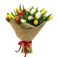 15 тюльпанов - цветы и букеты на roza.od.ua