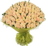 251 cream rose 60 cm - flowers and bouquets on roza.od.ua
