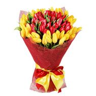 51 tulip - flowers and bouquets on roza.od.ua