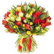 75 тюльпанов - цветы и букеты на roza.od.ua