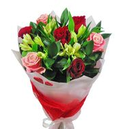 A bouquet of flowers for her - flowers and bouquets on roza.od.ua