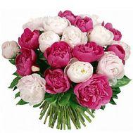 Букет из пионов в Одессе - цветы и букеты на roza.od.ua