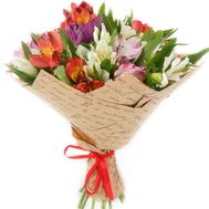 Bouquet of 21 alstromeries - flowers and bouquets on roza.od.ua