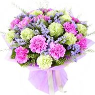 """Bouquet of 23 carnations"" in the online flower shop roza.od.ua"