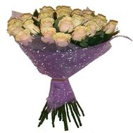 Bouquet of cream roses - flowers and bouquets on roza.od.ua