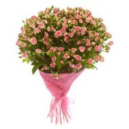 Bouquet of 25 bush roses - flowers and bouquets on roza.od.ua