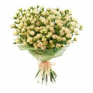 Bouquet of 27 bush roses - flowers and bouquets on roza.od.ua