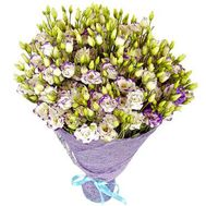 Bouquet of 51 eustomos - flowers and bouquets on roza.od.ua