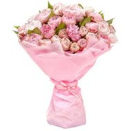 """Bouquet of peonies in Odessa"" in the online flower shop roza.od.ua"