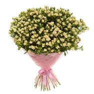 Bouquet of 65 bush roses - flowers and bouquets on roza.od.ua